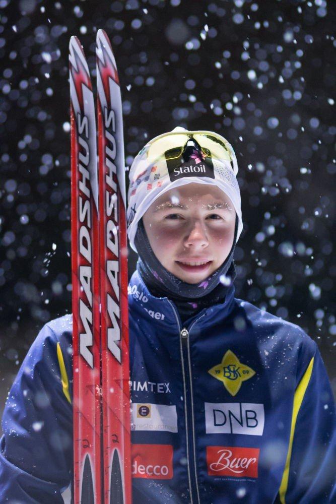 Lars Sønsterud valgte til slutt å satse på langrenn, selv om han også er et stort fotballtalent.