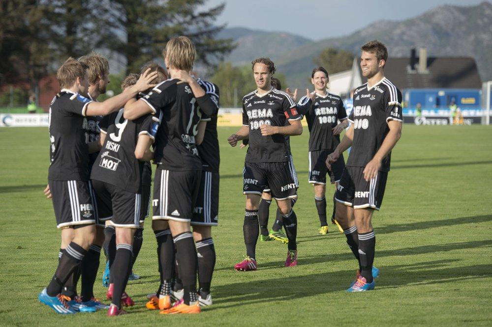 VANT: Rosenborg vant oppskriftsmessig borte mot Sandnes Ulf.