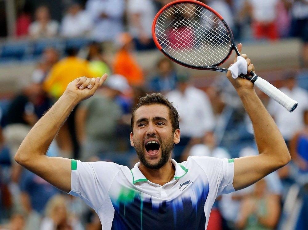 SJOKKERTE: Marin Cilic sjokkerte tennisverdenen da han slo ut Roger Federer i lørdagens semifinale i US Open.