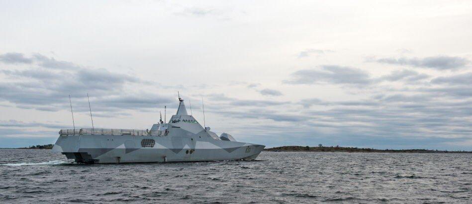 Svenske myndigheter jaktet intenst på det som ble sagt å være en ubåt i svensk farvann i oktober i år.