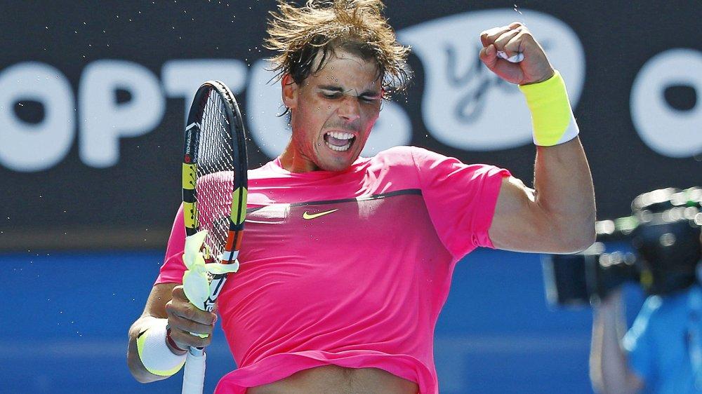 ENKELT: Rafa Nadal.