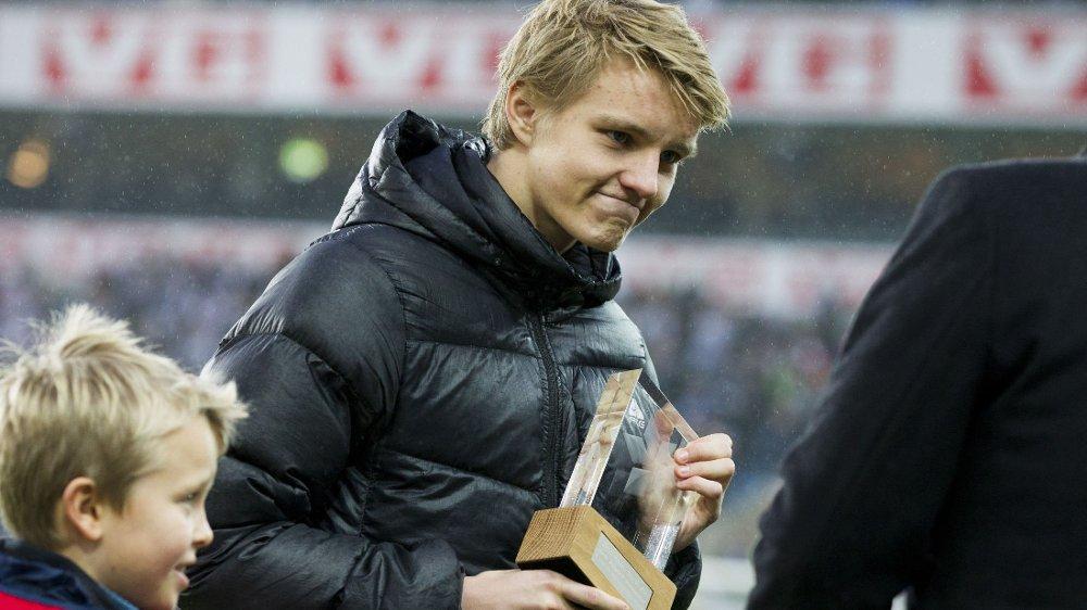 TIL MADRID: Martin Ødegaard kommer til å bli Real Madrid-spiller.