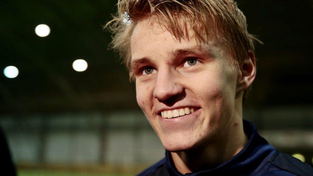TIL REAL MADRID: Martin Ødegaard skal være på vei til Real Madrid.