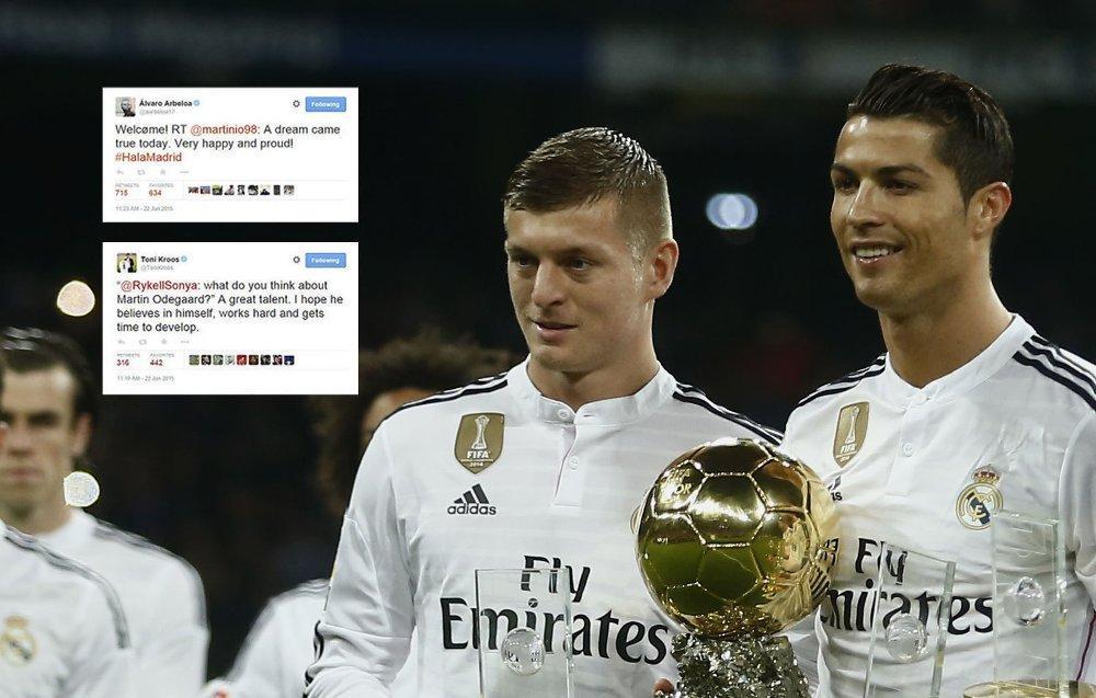 HYLLEST: Toni Kroos har stor tro på Martin Ødegaard.