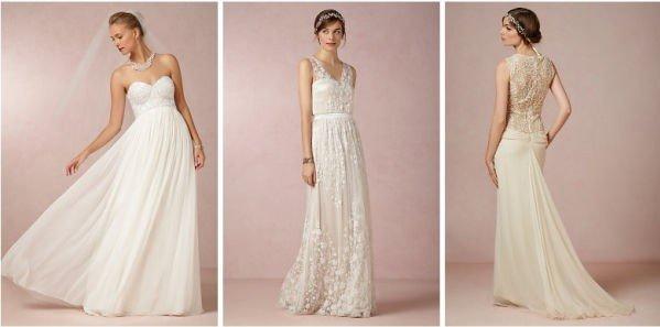 49b033e9 Det kan være vanskelig å bestemme seg for brudekjole. Ida hos oss kjøpte  fire til slutt. (Illustrasjonsfoto)