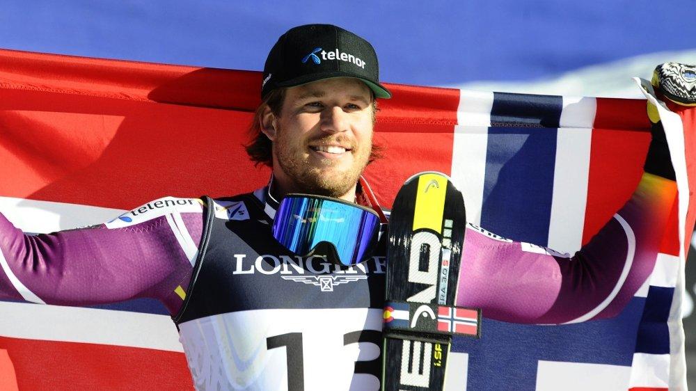 VANT SØLV: Kjetil Jansrud vant sølv under superkombinasjonen i Beaver Creek.