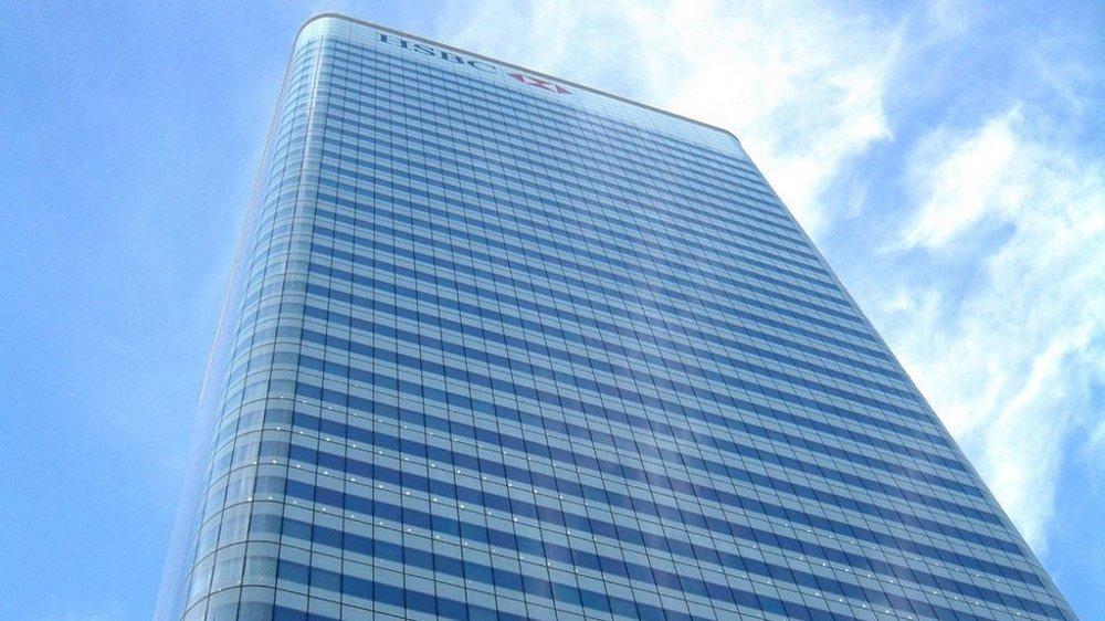 Hemmelige kontolister over 106.458 klienter fra banken HSBC Privat Bank i Geneve i Sveits er lekket til den franske avisen Le Monde og International Consortium for Investigative Journalists. På bildet: HSBCs hovedkontor i London.