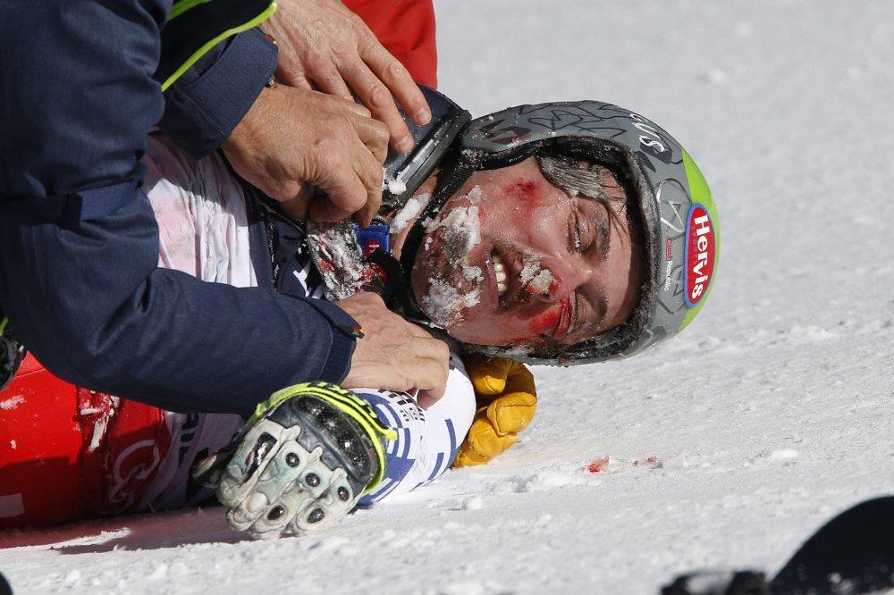 MISTET KONTROLLEN: Alpinist Ondrej Bank.