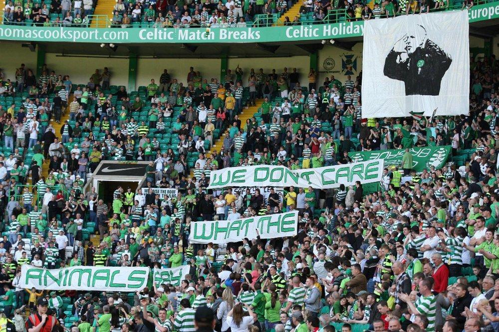 SUPPORTERE: Celtic-fansen regnes som en av Europas beste.