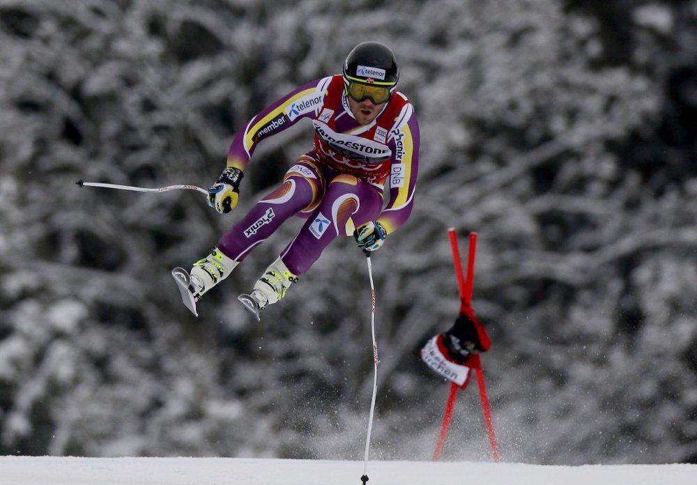 SKUFFET: Kjetil Jansrud fikk det ikke til å stemme i tyske Garmisch og endte på en skuffende 17.-plass i utforen.