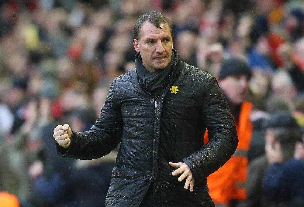 GOD FORM: Brendan Rodgers har klart å snu skuta i Liverpool.