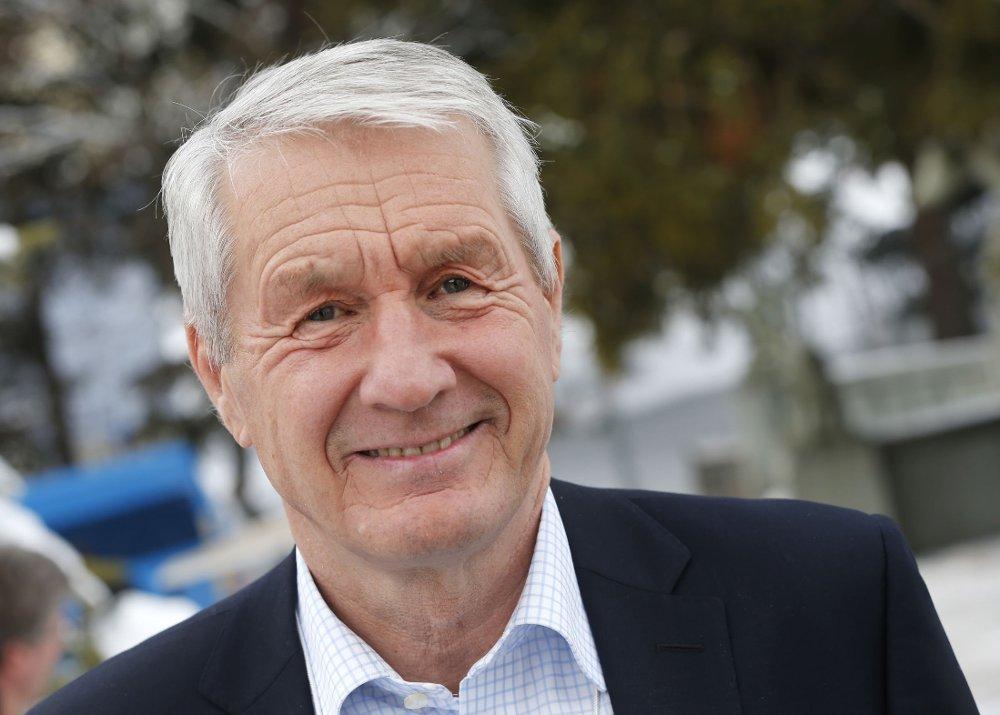 KONTROVERSIELL: Generalsekretær i Europarådet, Thorbjørn Jagland, deltok på World Economic Forum i Davos tidigere i år.