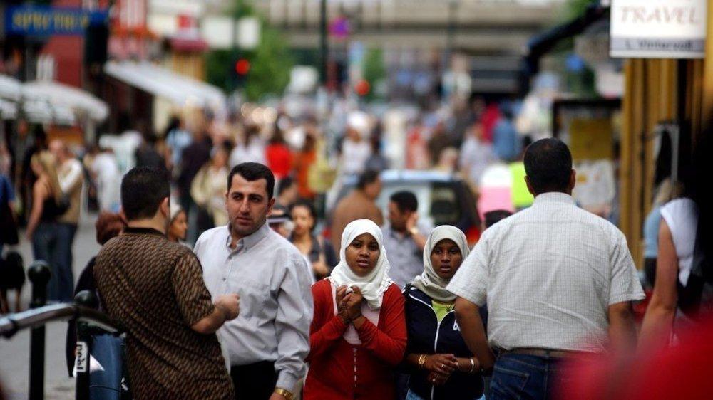 I Oslo har nesten en tredjedel av innbyggerne innvandrerbakgrunn. Her fra Brugata i Oslo sentrum.