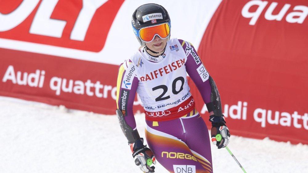 SKADET: Ragnhild Mowinckel mister resten av sesongen på grunn av en skade i ankelen.