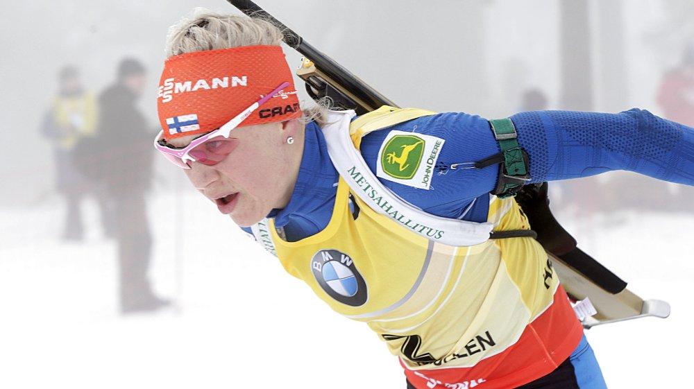 POPULÆR: Skiskytteren Kaisa Mäkäräinen er Finlands mest populære idrettsutøver. Hennes popularitet kan stige ytterligere om hun gjør det bra i VM på hjemmebane.