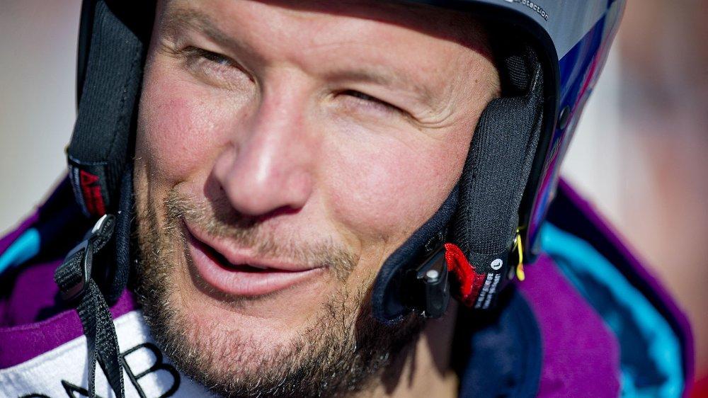 OPTIMIST: Aksel Lund Svindal er positiv til den nye treneren. Her fra verdenscuprennet på Kvitfjell i år.