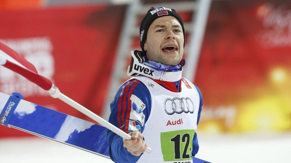 LEGGER OPP: Anders Jacobsen.