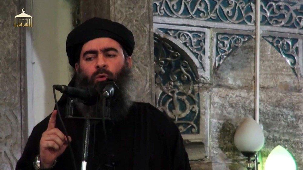 Bildet viser lederen for Den islamske staten (IS), Abu Bakr al-Baghdadi, også kalt Caliph Ibrahim.