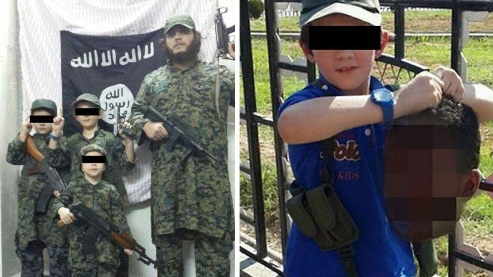 ISLAMSKE STAT: Familien dro til Syria i 2013 - bildene faren har lagt ut har sjokkert verden. Nå vil moren ta barna med hjem til Australia.