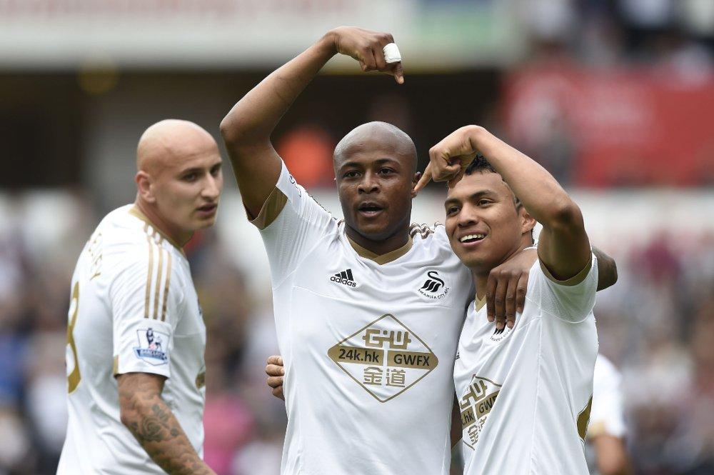 PANGSTART: Andre Ayew har fått en pangstart på Swansea-karrieren med scoring i sine to første kamper.