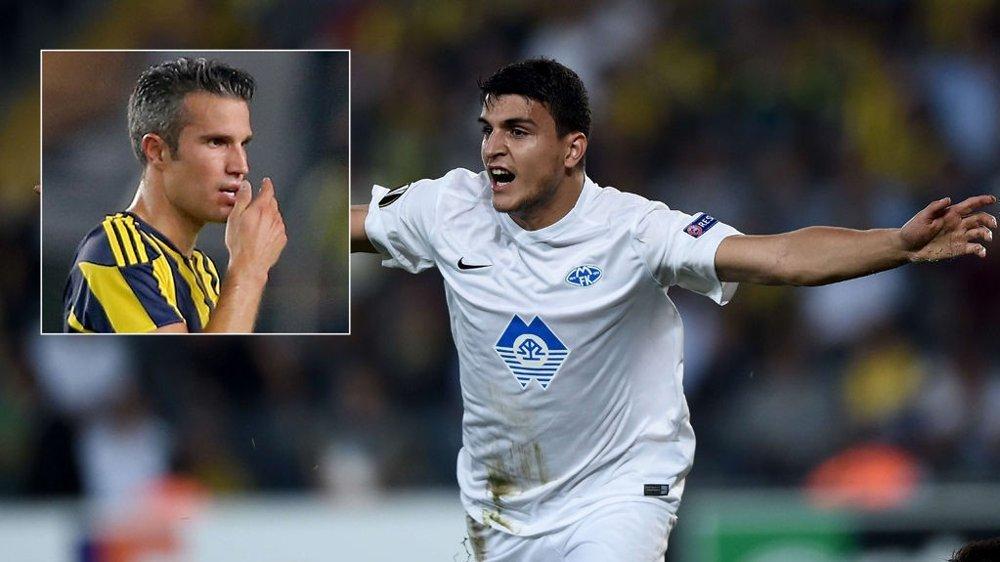 Mohamed Elyounoussi og de andre Molde-spillerne ydmyket Robin van Persie og de andre Fenerbahce-stjernene.