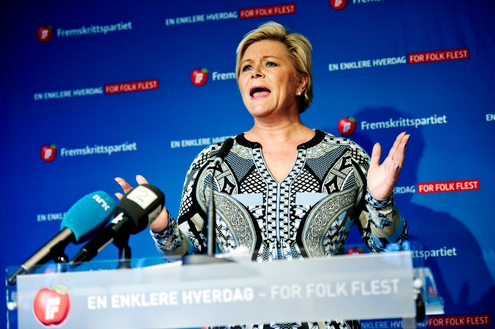 Siv Jensen og Fremskrittspartiet har akkurat gjort sin beste meningsmåling på over to år, i en måling gjort for Nationen og Klassekampen.