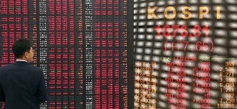 Størst bevegelse mandag finner vi i Sør-Koreas hovedstad Seoul der hovedindeksen KOSPI endte ned hele 1,82%.