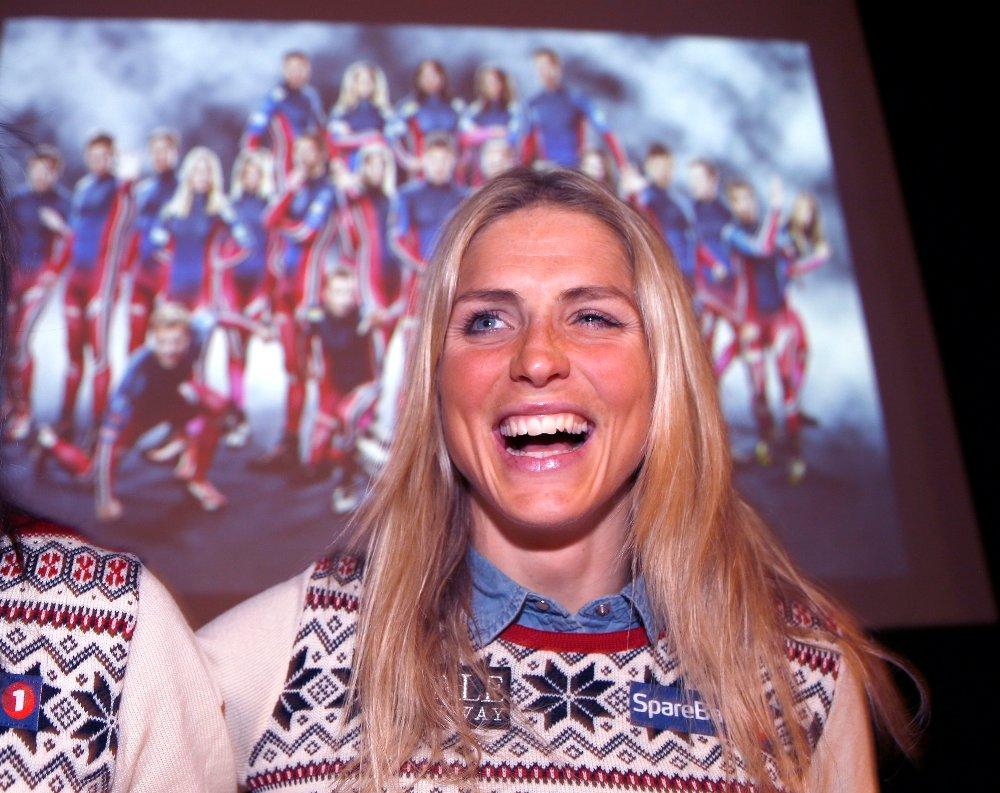 SUVEREN: Therese Johaug imponerte stort i verdenscupåpningen, men ble slått i TV-kampen.