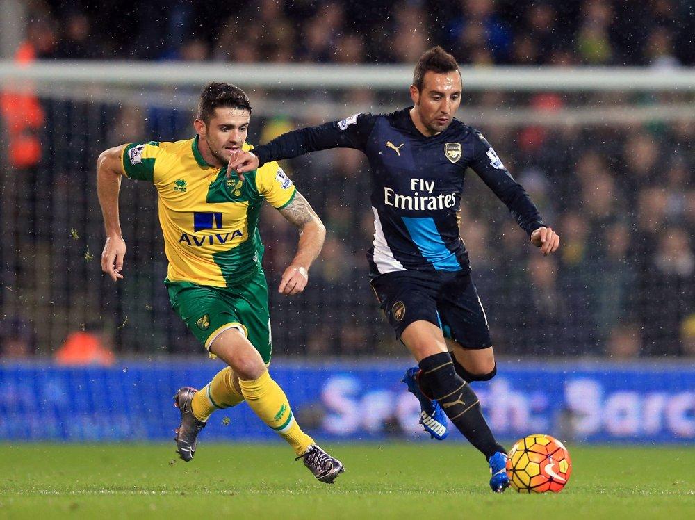 PASSMASTER: Arsenal-stjernen Santi Cazorla.