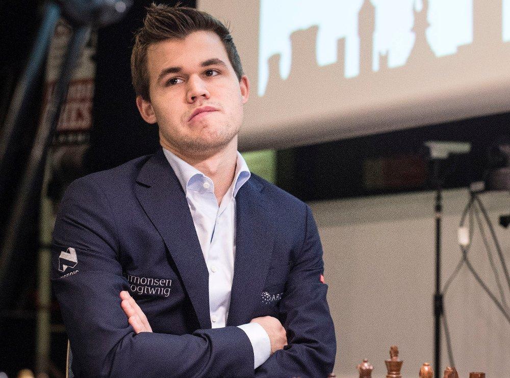TIL TOPPS: Magnus Carlsen vant Qatar Masters.