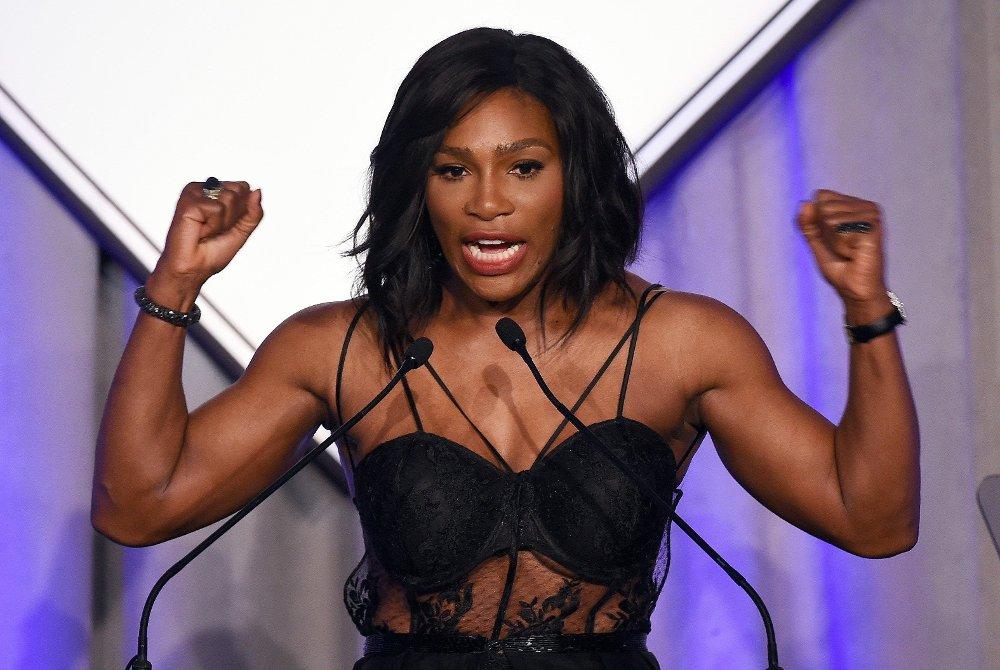 ÅRETS IDRETTSKVINNE: Tennisspilleren Serena Williams.