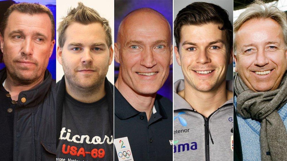 Tom Nordlie, Petter Veland, Erik Thorstvedt, Pål André Helland og Vidar Davidsen har kommet med noen spådommer før EM.