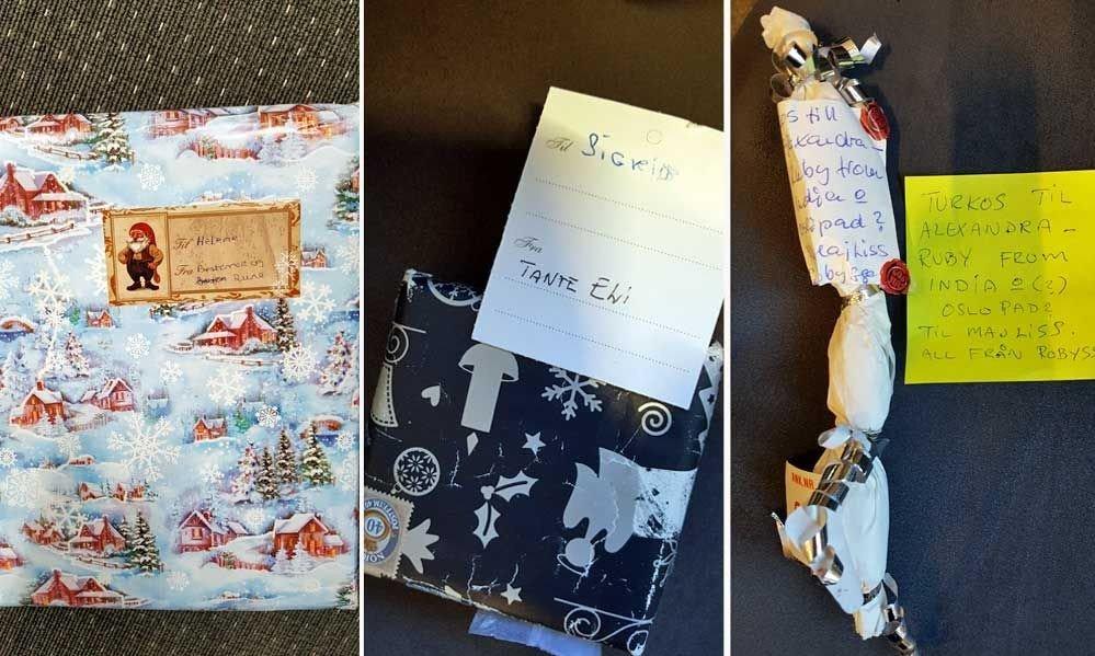 ecbe24ba2d0a KOM ALDRI FRAM  Nå trenger Posten hjelp av leserne til å løse  julegavemysteriene.