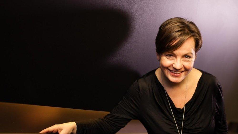 TØFFERE: Jannicke Engan sier hun ble påvirket av Aleksander Schaus Twitter-meldinger, som også kritiserte ledere i mediebransjen.