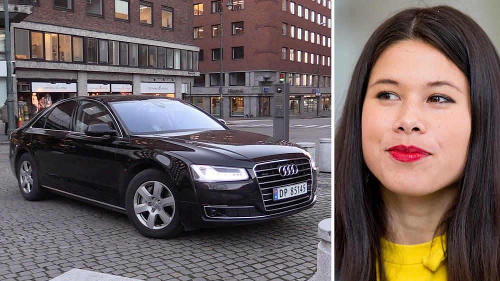 MER BIL: Lan Marie Nguyen Berg (MDG) blir oftere kjørt rundt på jobb. Dette forklarer byråden med sikkerhetsgrunner.