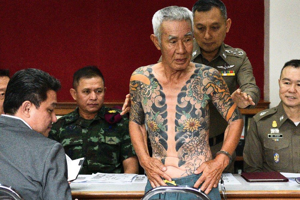 FENGSLET: Shigeharu Shirai (74) ble tatt av politiet i Thailand etter 14 år på rømmen.
