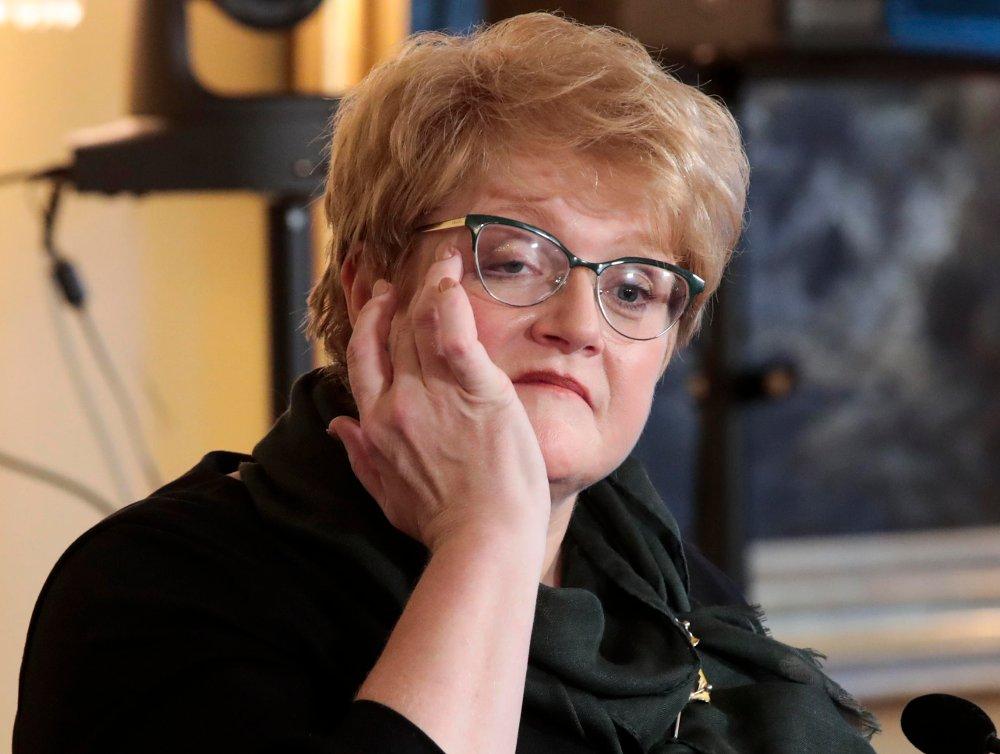 Kulturminister Trine Skei Grande (V) vil ikke si noe mer om rykteflommen rundt henne.