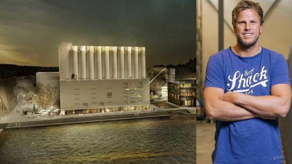 NOK ER NOK: Netthandel-gründer Einar Brandsdal Øgrey sier seg fornøyd etter å ha gravd frem mange nye fakta om Kunstsilo-prosjektet til 600 millioner kroner.