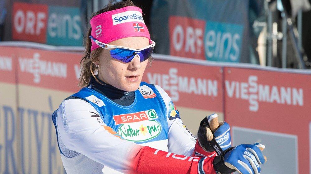 GIKK VIDERE: Maiken Caspersen Falla er klar for kvartfinalene i OL-sprinten.
