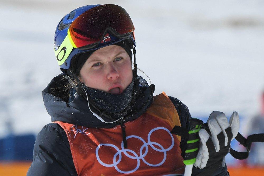 SKUFFET: Tiril Sjåstad Christiansen skuffet i slopestyle-finalen lørdag.