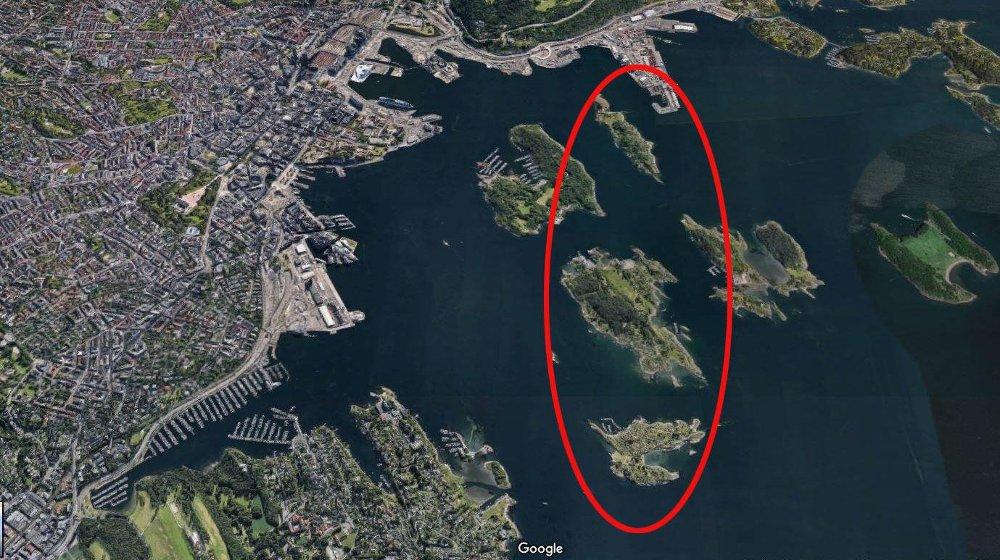 15 MINUTTER FRA OSLO: Bleikøya, Lindøya og Nakholmen utgjør et eksklusivt hytteparadis i Indre Oslofjord. De vel 500 hyttene på disse øyene er små og har en enkel standard, men prisene har skutt i været.