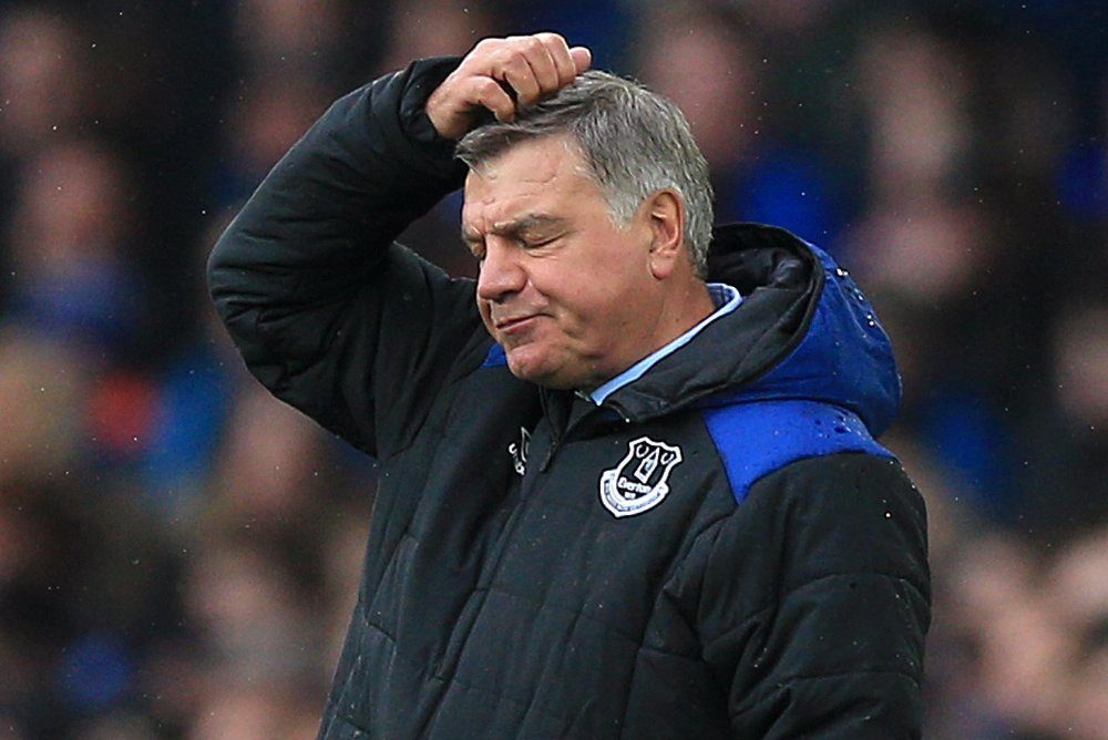 FERDIG: Sam Allardyce er ferdig i Everton.