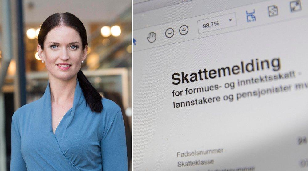 TAPSPROSJEKT: Anne Motzfeldt i Danske Bank advarer mot å betale ekstra i skatt for å få mer igjen neste år.