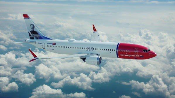 Selskapets splitter nye og mer miljøvennlige Boeing 737 MAX 8 (avbildet) skal betjene ruten fra Oslo til Dubai.