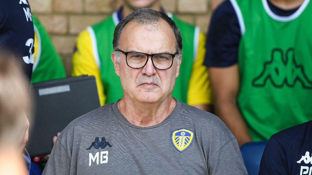 LEGENDE: Marcelo Bielsa er på plass hos Leeds.