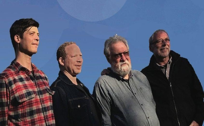 Ches Smith, Craig Taborn, Evan Parker og Dave Holland - en helt spesiell kvartett.