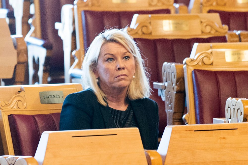 Kommunal- og moderniseringsminister Monica Mæland (H). Foto: Berit Roald / NTB scanpix