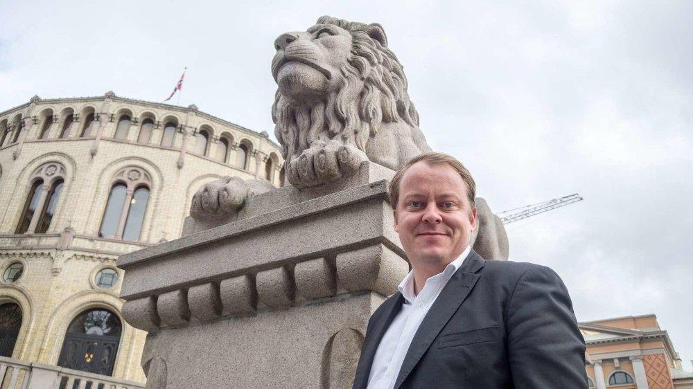 KRITISK: Fremskrittspartiets stortingsrepresentant Erlend Wiborg er kritisk til tallene.