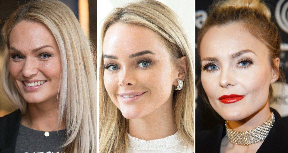 BLOGGERE: Marna Haugen Burøe, Sophie Elise Isachsen og Caroline Berg Eriksen ligger på inntektstoppen blant landets bloggere. Det er derimot Sophie Elise som er den rikeste.