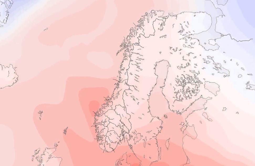 VARMVÆR: Den siste tids varme vær ligger an til å fortsette også neste uke.